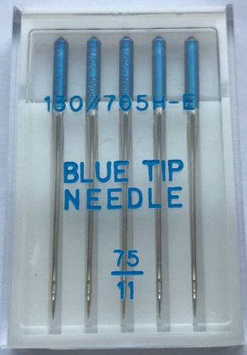 BLUE TIP NEEDLES FOR JANOME SIZE 75/11